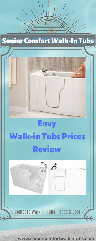 Envy Walk-in Tubs Prices Review