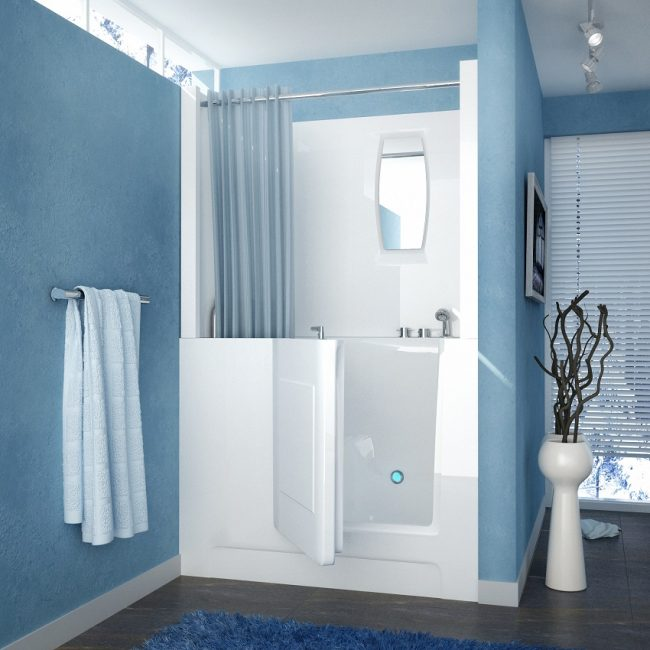 Walk-In Tub & Shower Combo